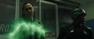 Loki using magic