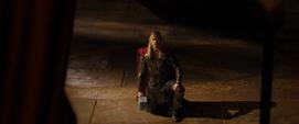 Thor habla con Odín