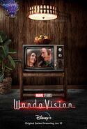 WandaVision Colored TV Poster