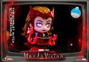 Wanda with Darkhold cosbaby glow