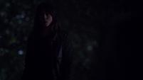 Skye tras presenciar el asesinato de Raina