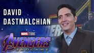 David Dastmalchian LIVE from the Avengers Endgame Red Carpet Premiere