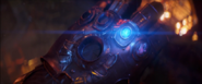 The Space Stone into the Gauntlet