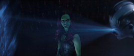Gamora de 2014 aprende sobre el destino de Thanos
