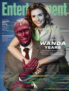 WandaVision - Promocional Portada Entertainment