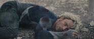 Pietro muerto en el suelo