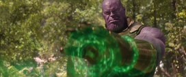 Thanos usa la Gema del Tiempo