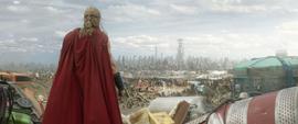 Thor aterriza en Sakaar