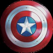 Captain America Alternate Timeline Shield