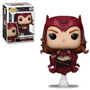 Funko Scarlet Witch with a book
