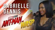 Gabrielle Dennis at Marvel Studios' Ant-Man and The Wasp Premiere