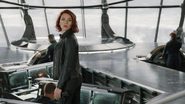 Natasha en el Helicarrier