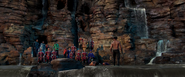 Killmonger defeats T'Challa