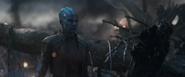 Nebula de 2014 se reúne con Thanos