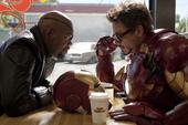 Stark le pregunta groseramente a Fury