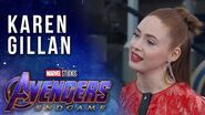 Karen Gillan talks Nebula's Journey LIVE from the Avengers Endgame Premiere