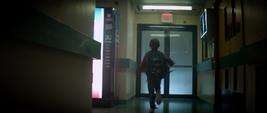 Peter Quill huyendo del Hospital