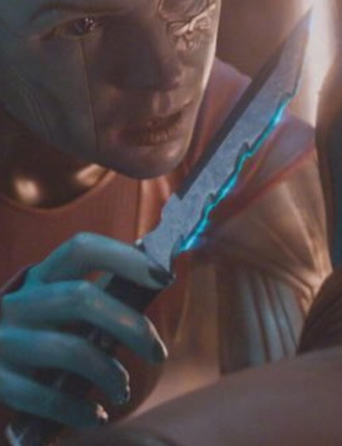 Nebula's Energy Dagger