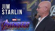 Thanos Creator Jim Starlin LIVE at the Avengers Endgame Premiere