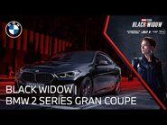 The BMW 2 Series Gran Coupe meets Marvel Studios' Black Widow - BMW USA