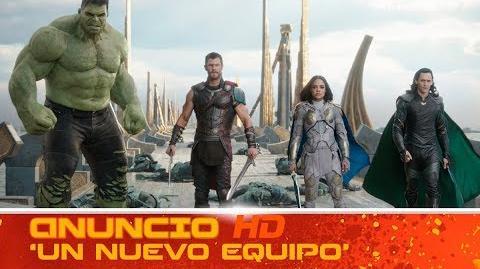 Thor Ragnarok de Marvel Anuncio 'Un nuevo equipo' HD