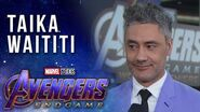 Taika Waititi Brings the Party to the LIVE Avengers Endgame Premiere