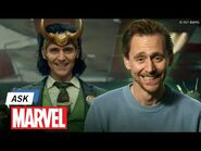 What do Tom Hiddleston & Loki Have in Common? - Ask Marvel