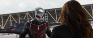 Ant-Man confronta a Black Widow
