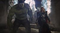 Thor y Hulk en Nueva York