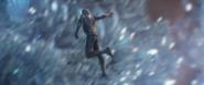 Hawkeye traveling through time