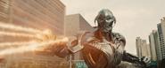 Ultron enfrenta al Capitán América