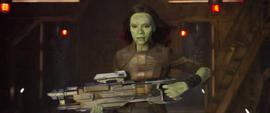 Gamora decide ir a buscar a Quill