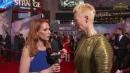 Tilda Swinton on Living for 700 Years at Marvel's Doctor Strange Red Carpet Premiere