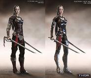 Thor The Dark World 2013 concept art 44
