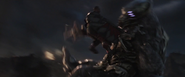 Falcon kills Chitauri