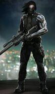 CATWS Winter Soldier concept art 3