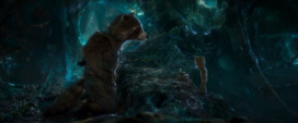 Rocket y Groot repasan el plan