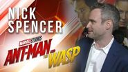 Nick Spencer Live at Marvel Studios' Ant-Man and The Wasp Premiere