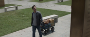 Scott visits Vanished Memorial