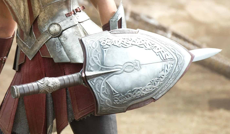 Espada y Escudo de Sif
