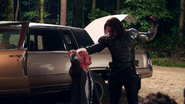 Winter Soldier killing Howard Stark (The Making of CACW)