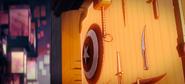 Cap's Shield and Mjolnir close up