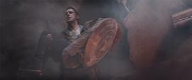 Rogers salvando a Romanoff
