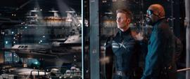 Cap y Nick Fury