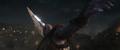Thanos a punto de lanzar su Espada de Doble Filo