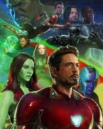 Avengers Infinity War - Póster 1 SDCC