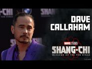 Dave Callaham- You Can Be a Super Hero - Marvel Studios' Shang-Chi Red Carpet LIVE