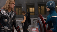 Thor, Hawkeye & Cap