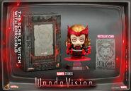 Wanda with Darkhold cosbaby