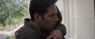 Scott hugs Cassie